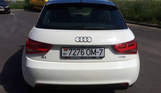 оклейка Audi A1