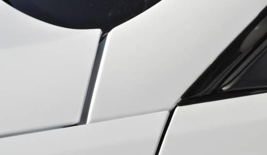 BMW E92 white matte